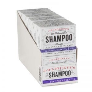 Tea Tree & Hemp Oil Shampoo Bars - J.R.LIGGETT'S