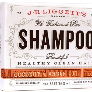 Virgin Coconut & Argan Oil Formula Shampoo Bar - 3.5oz-0