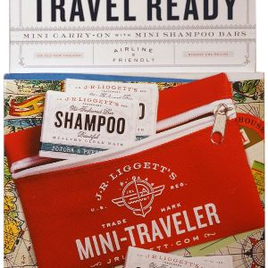 Mini Traveler Pack - w/4 Mini Shampoo Bars-0
