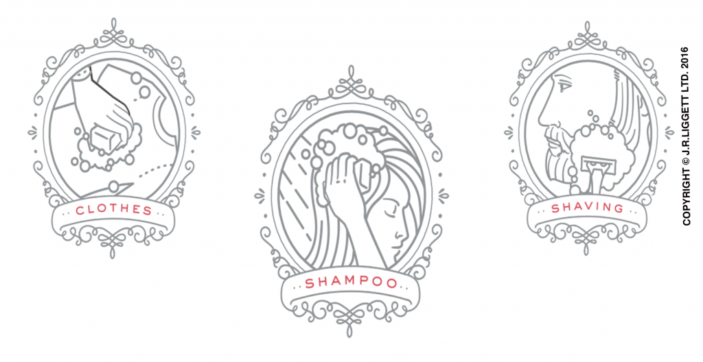 Clothes, Shampoo, Shaving