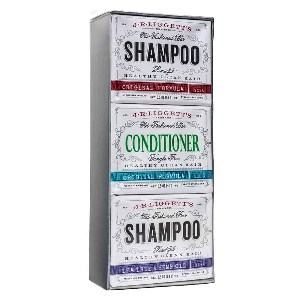 Shampoo and Conditioner Bar Gift Bundle