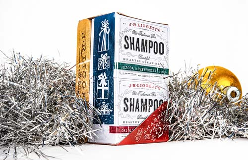 Shampoo Bars with Shelf