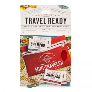 Mini-Traveler Shampoo Bar Pouch