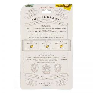 Mini Traveler Shampoo Bar Pouch - Back